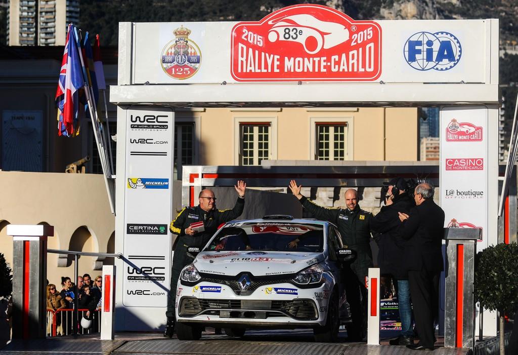 Objectif de la saison, la qualification pour la Finale du Clio R3T European Trophy sur les routes du Rallye Monte-Carlo 2016