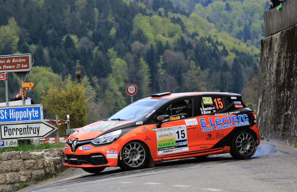 Retour à la compétition sur un terrain inconnu pour Olivier Courtois - Hubert Risser (photo ©project-diffusion.ch)