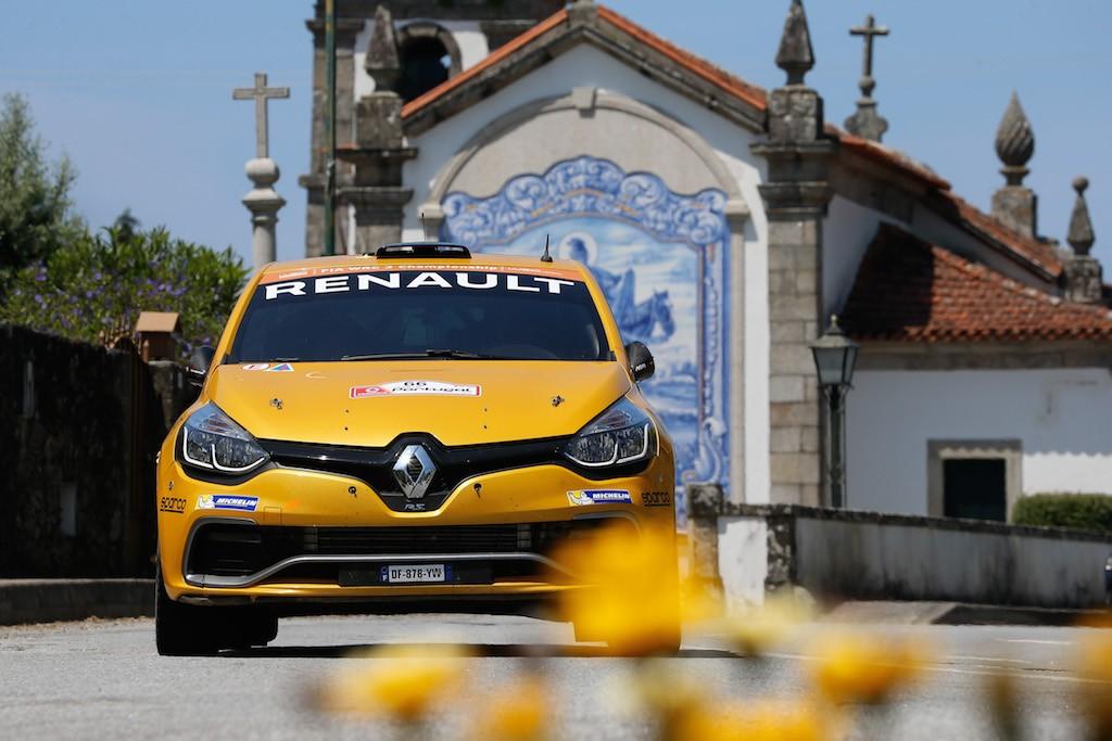 Michaël Burri - Anderson Levratti lors du Rallye du Portugal 2016