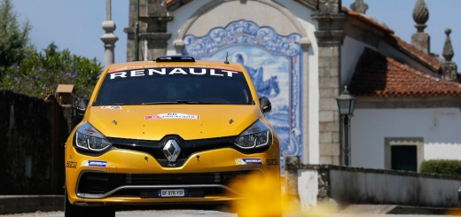 Michaël Burri - Anderson Levratti lors du Rallye du Portugal 2016.