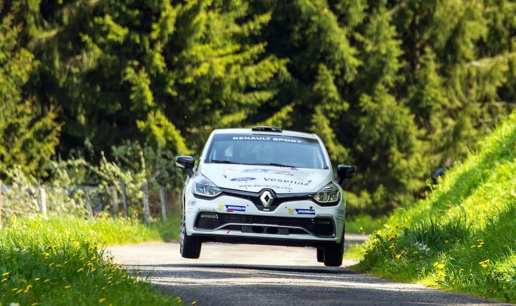 Jérôme Chavanne - Montvignier Romain favori sur les routes du Rallye Mont-Blanc Morzine