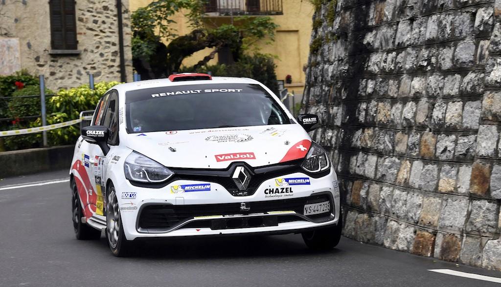 Cédric Althaus - Jessica Bayard candidat à une place sur le podium du Championnat Suisse des Rallyes (photo J. Kaufmann)